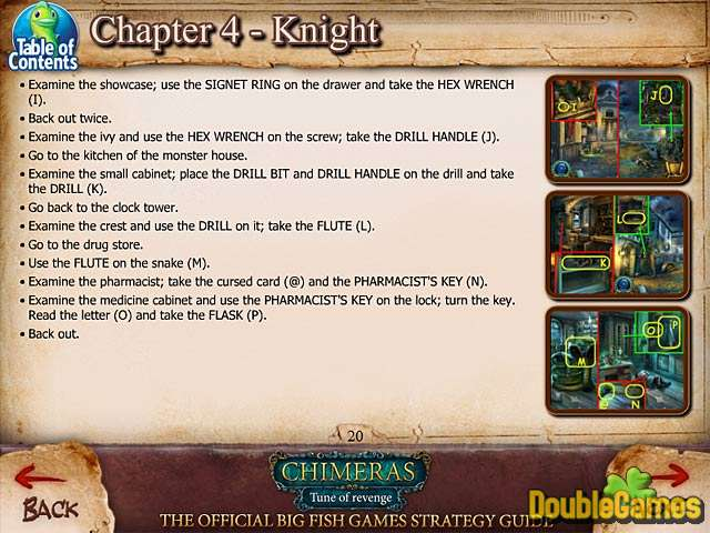 Free Download Chimeras: Tune Of Revenge Strategy Guide Screenshot 3