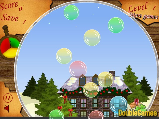 Free Download Christmas Bubbles Screenshot 2
