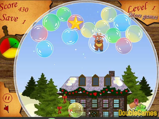 Free Download Christmas Bubbles Screenshot 3
