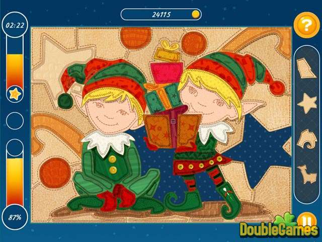 Free Download Christmas Mosaic Puzzle Screenshot 1