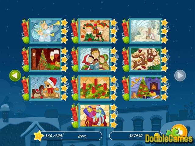 Free Download Christmas Mosaic Puzzle Screenshot 2