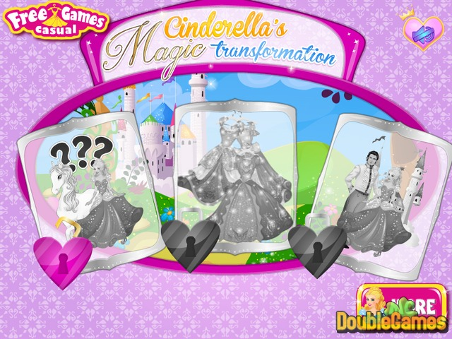 Free Download Cinderella Magic Transformation Screenshot 1