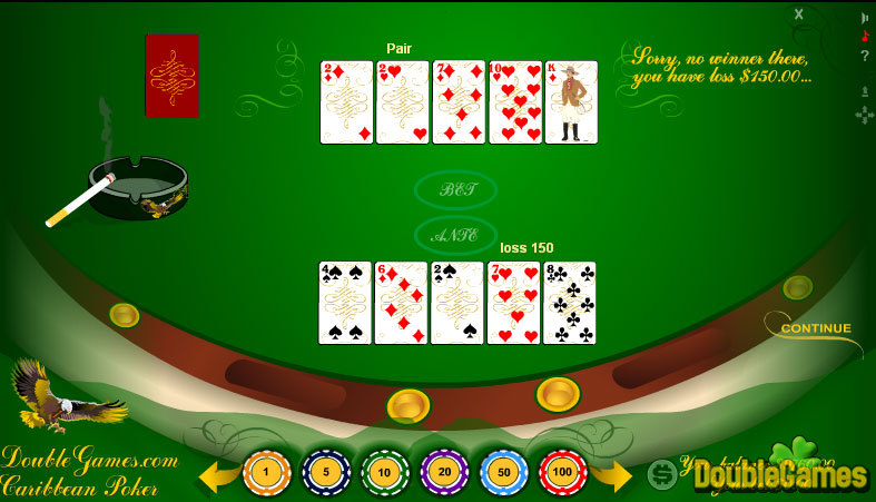 Free Download Classic Caribbean Poker Screenshot 1