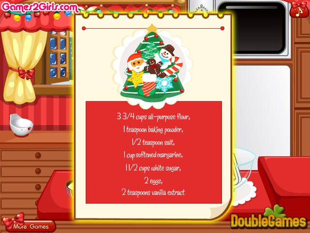 Free Download Cooking Frenzy. Christmas Cookies Screenshot 1