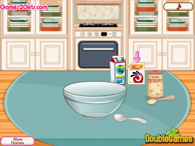 Free Download Cooking Frenzy: Homemade Donuts Screenshot 1