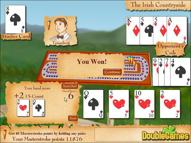 Free Download Cribbage Quest Screenshot 2