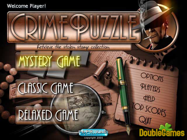 Free Download Crime Puzzle Screenshot 1
