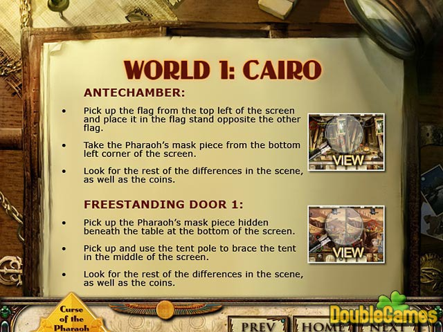 Free Download Curse of the Pharaoh: Napoleon's Secret Strategy Guide Screenshot 1