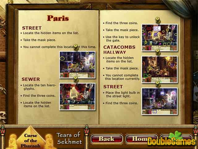 Free Download Curse of the Pharaoh: Tears of Sekhmet Strategy Guide Screenshot 3