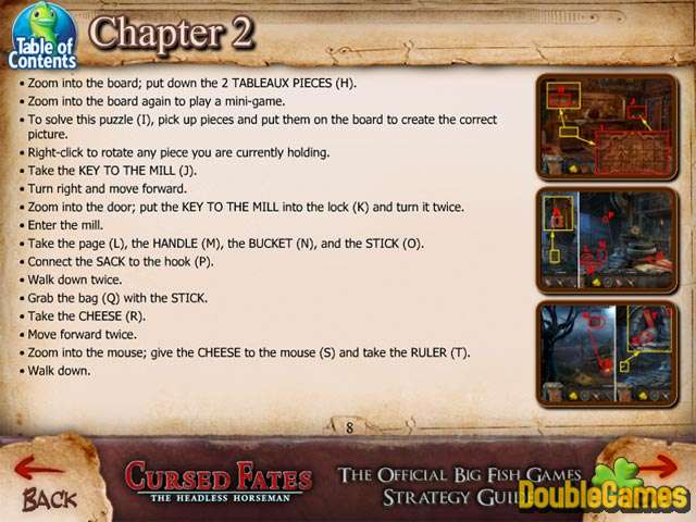 Free Download Cursed Fates: The Headless Horseman Strategy Guide Screenshot 3