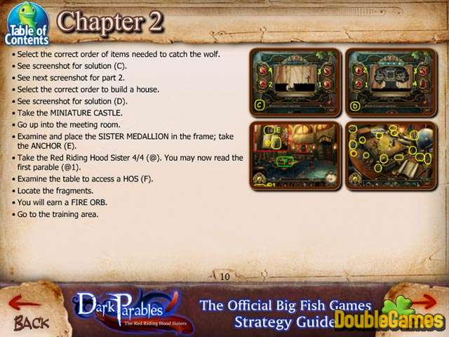Скачать бесплатно Dark Parables: The Red Riding Hood Sisters Strategy Guide скриншот 2