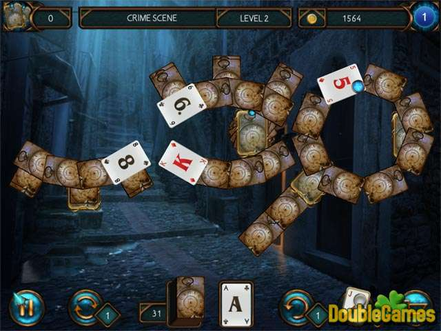 Free Download Detective Solitaire: Inspector Magic Screenshot 1