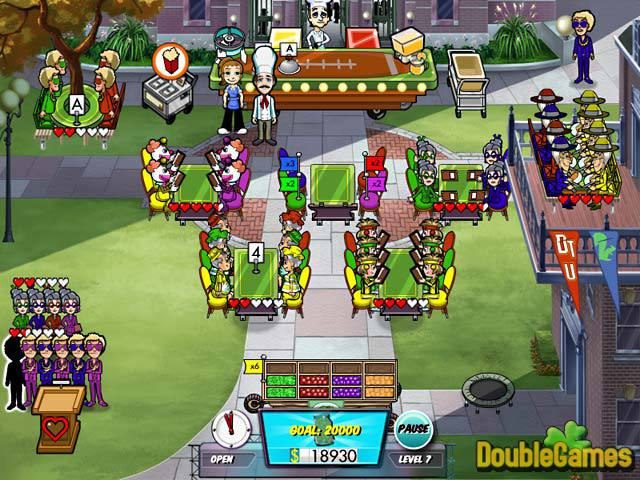 Free Download Diner Dash 5: Boom Collector's Edition Screenshot 2