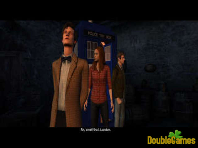Скачать бесплатно Doctor Who: The Adventure Games - The Gunpowder Plot скриншот 2