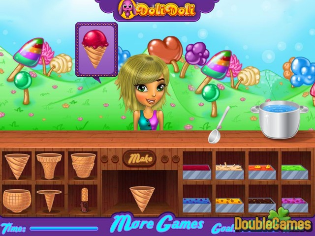 Free Download Doli Ice Cream Frenzy Screenshot 2