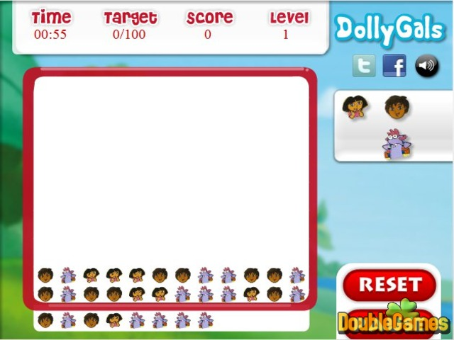Free Download Dora the Explorer: Matching Fun Screenshot 1
