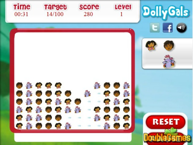 Free Download Dora the Explorer: Matching Fun Screenshot 2