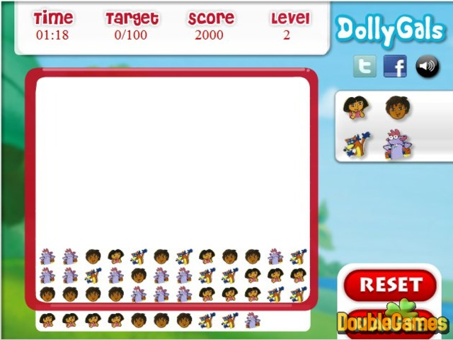 Free Download Dora the Explorer: Matching Fun Screenshot 3