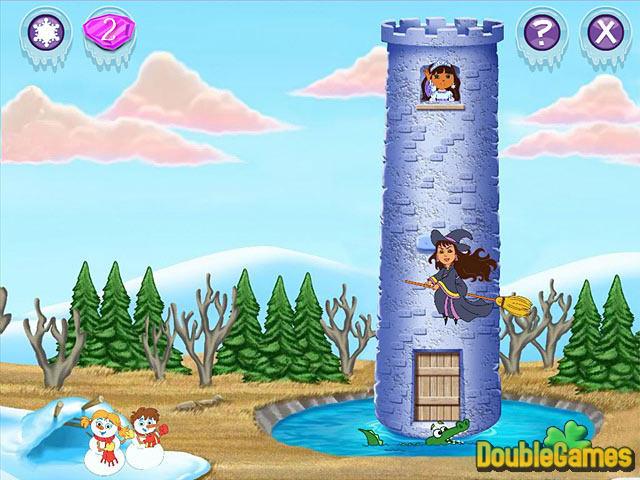 Free Download Dora Saves the Snow Princess Screenshot 1