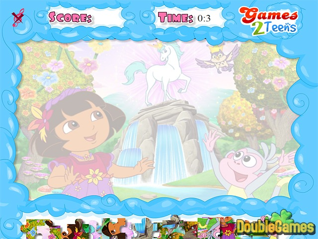 Free Download Dora the Explorer: Jolly Jigsaw Screenshot 1