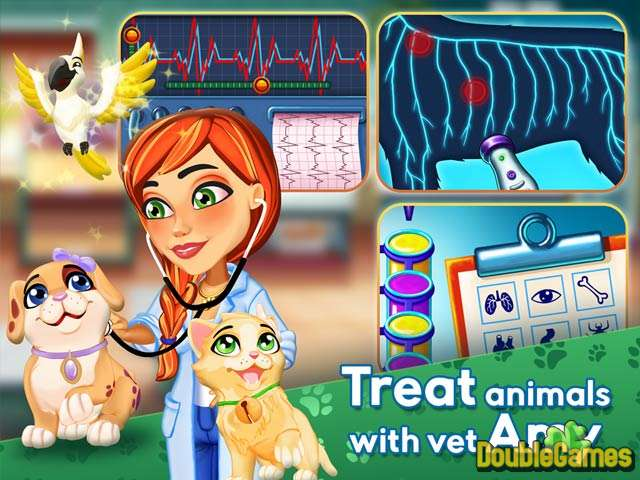Free Download Dr. Cares: Amy's Pet Clinic Collector's Edition Screenshot 1