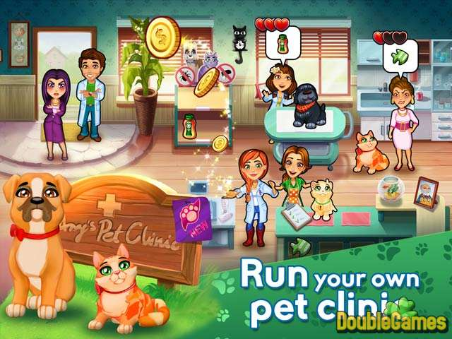 Free Download Dr. Cares: Amy's Pet Clinic Collector's Edition Screenshot 2