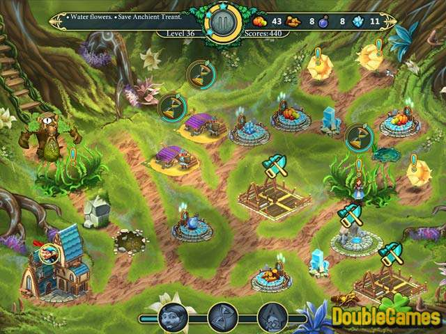 Free Download Elven Legend 2: The Bewitched Tree Screenshot 1