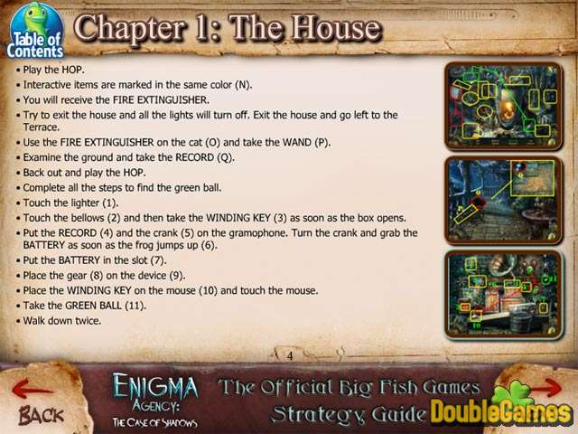 Скачать бесплатно Enigma Agency: The Case of Shadows Strategy Guide скриншот 1