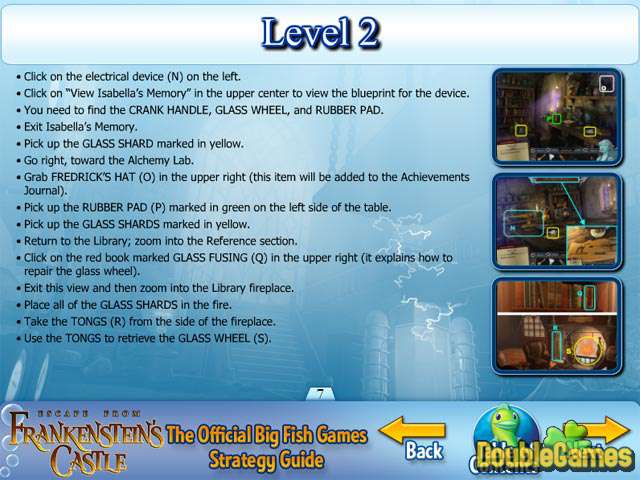 Free Download Escape from Frankenstein's Castle Strategy Guide Screenshot 3