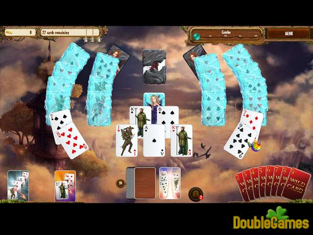Free Download Fantasy Quest Solitaire Screenshot 2