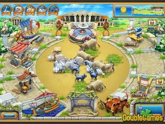 Free Download Farm Frenzy: Ancient Rome & Farm Frenzy: Gone Fishing Double Pack Screenshot 3