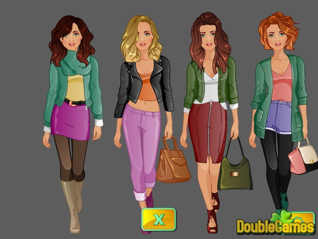 Free Download Fashion Studio: Autumn Leaves Screenshot 2