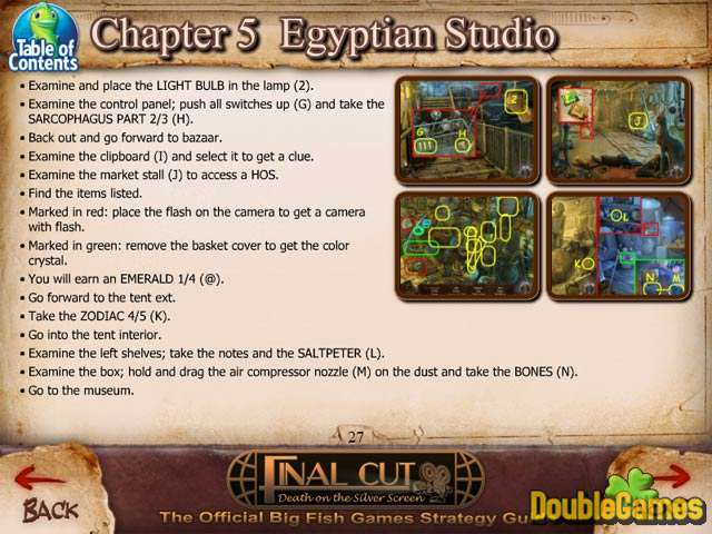 Free Download Final Cut: Death on the Silver Screen Strategy Guide Screenshot 1