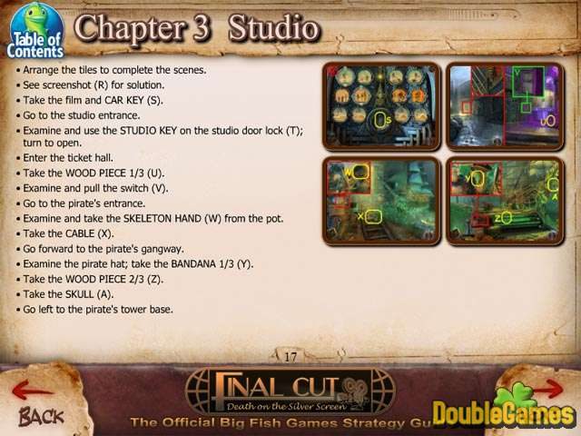 Free Download Final Cut: Death on the Silver Screen Strategy Guide Screenshot 2