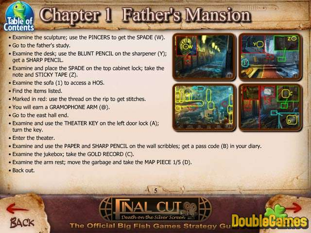 Free Download Final Cut: Death on the Silver Screen Strategy Guide Screenshot 3