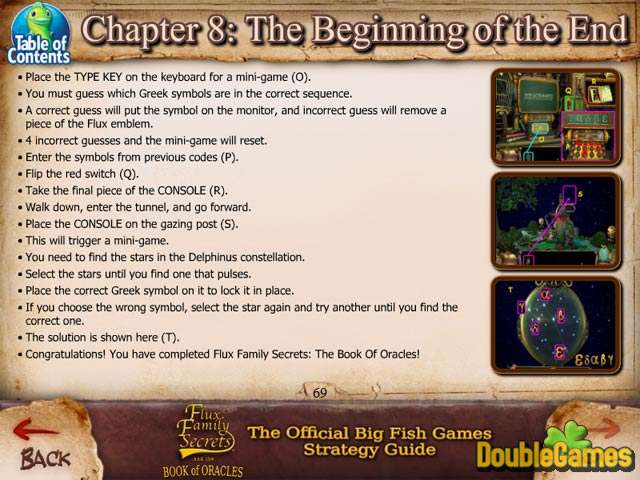 Free Download Flux Family Secrets: The Book of Oracles Strategy Guide Screenshot 1