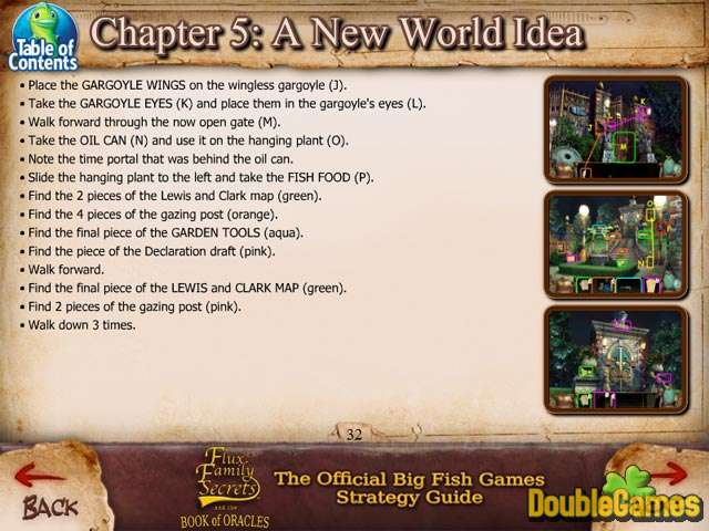 Free Download Flux Family Secrets: The Book of Oracles Strategy Guide Screenshot 2