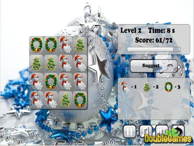 Free Download Funny New Year Puzzle Screenshot 1