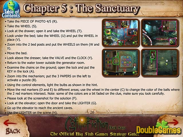 Free Download Gothic Fiction: Dark Saga Strategy Guide Screenshot 3