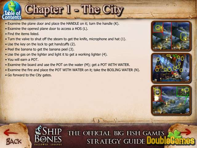 Free Download Hallowed Legends: Ship of Bones Strategy Guide Screenshot 1