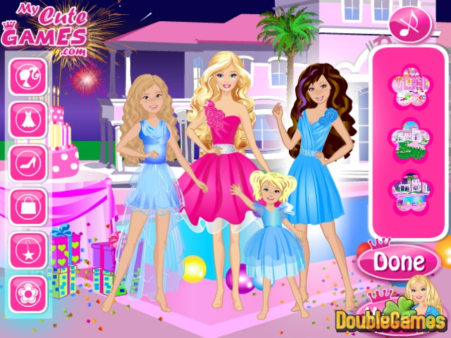 Free Download Happy Birthday Barbie Screenshot 2