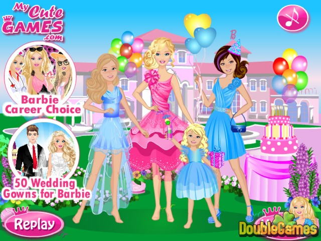Free Download Happy Birthday Barbie Screenshot 3