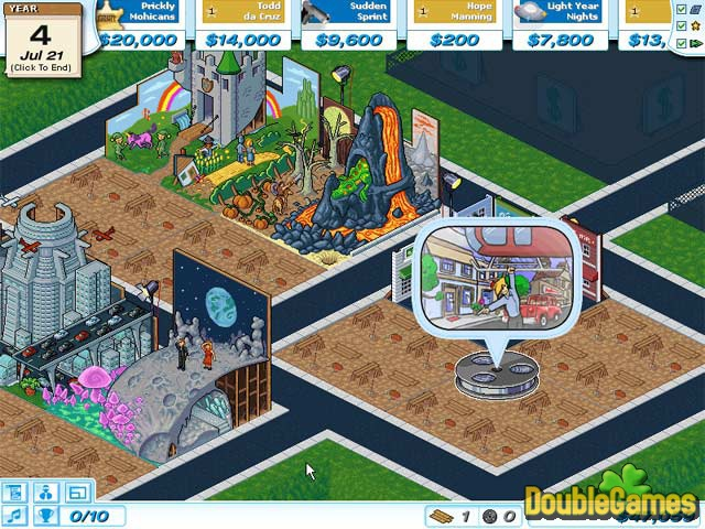 Free Download Hollywood Tycoon Screenshot 1