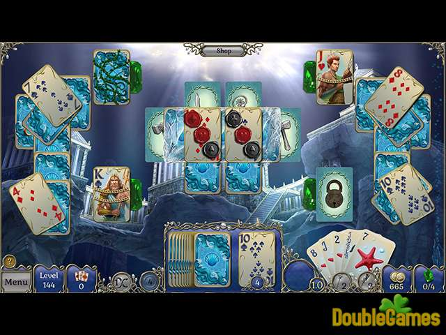 Free Download Jewel Match Solitaire: Atlantis Collector's Edition Screenshot 2