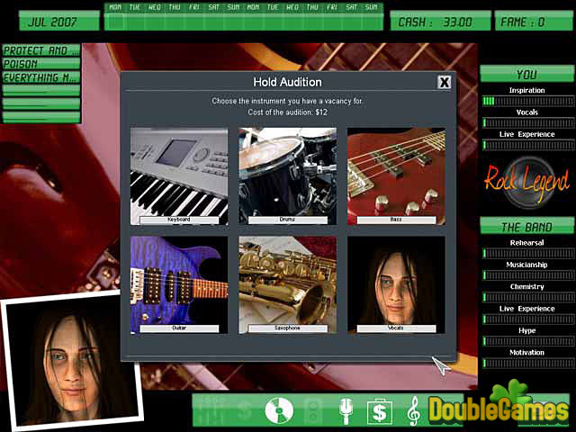 Free Download Kudos Rock Legend Screenshot 3
