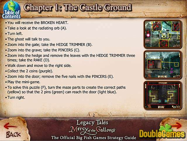 Free Download Legacy Tales: Mercy of the Gallows Strategy Guide Screenshot 1