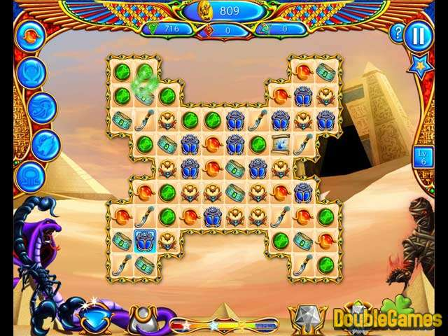 Скачать бесплатно Legend of Egypt: Jewels of the Gods скриншот 1