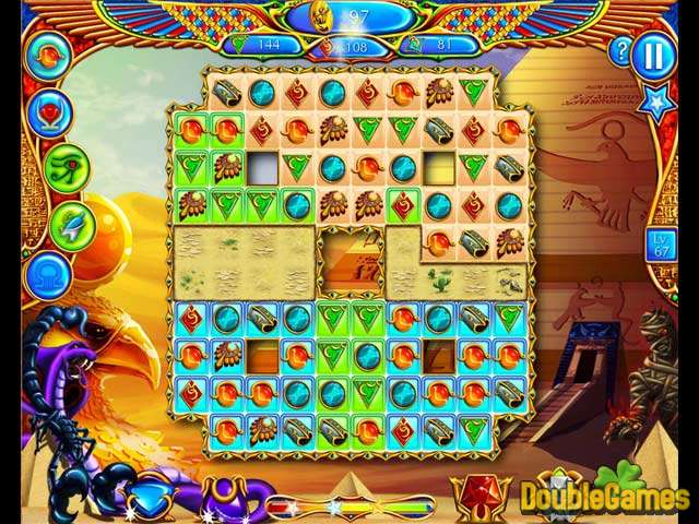 Скачать бесплатно Legend of Egypt: Jewels of the Gods скриншот 2