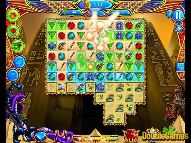 Скачать бесплатно Legend of Egypt: Jewels of the Gods скриншот 3