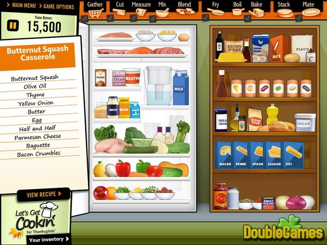 Free Download Let's Get Cookin' for Thanksgivin' Screenshot 1